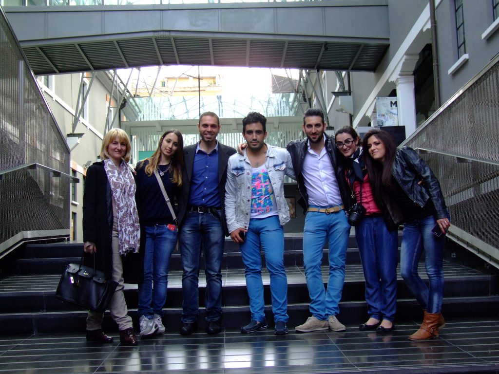 Kinder Garden: Rome Business School Visit The Macro Museum Of Rome