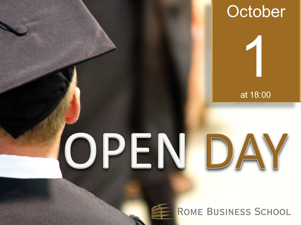 Open Day Rome Business School 2014