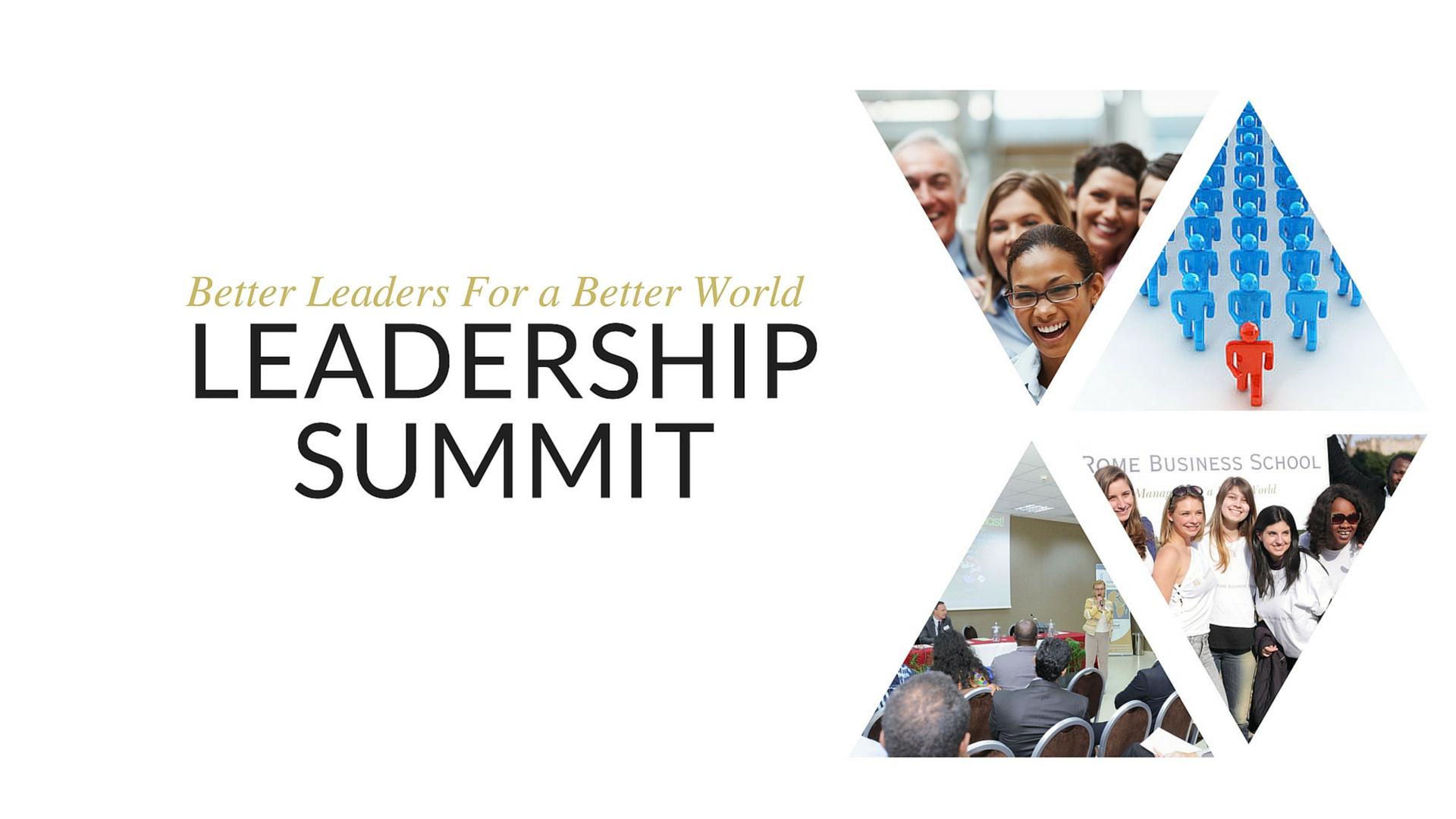 Leadership summit Rome Busines Schoo