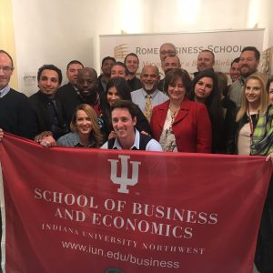 Indiana University Northwest – School of Business and Economics Visit (1)