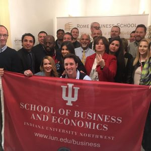 Indiana University Northwest – School of Business and Economics Visit (6)