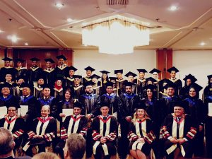 Graduation Ceremony for Rome Business School MBA graduates in Cairo, Egypt